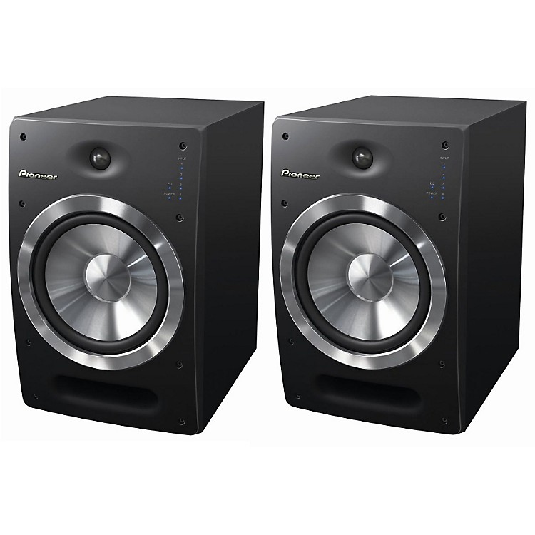 Pioneer S-DJ08 Active Reference Speakers (Pair)