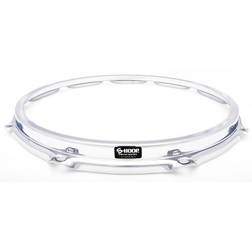 Ahead S-Hoop Drum Hoop Chrome 14 in., 10 Holes