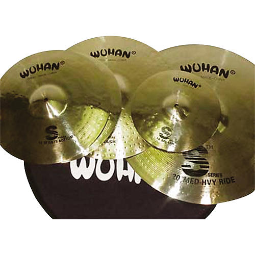 Wuhan S Series Cymbal Pack