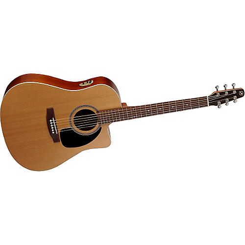 Seagull S-Series S6 + CW Cedar GT Quantum II Acoustic-Electric Guitar