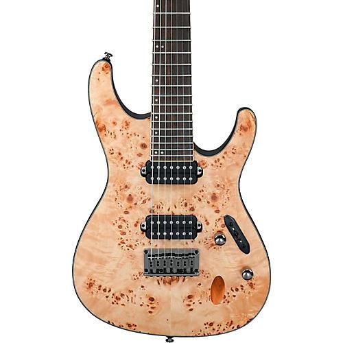 Ibanez S Series S7721PB 7-String Electric Guitar Flat Natural