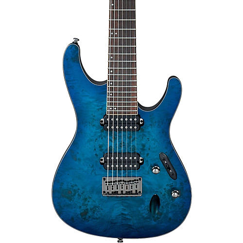 Ibanez S Series S7721PB 7-String Electric Guitar-thumbnail