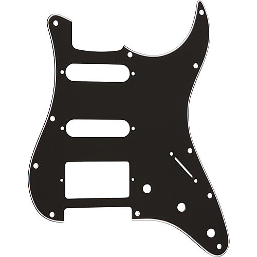 ProLine S-Style Hum-Single-Single 3-Ply Pickguard Black