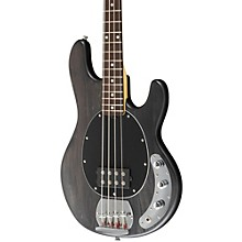 Sterling by Music Man S.U.B. Ray4 Electric Bass Guitar Satin Black Rosewood Fingerboard