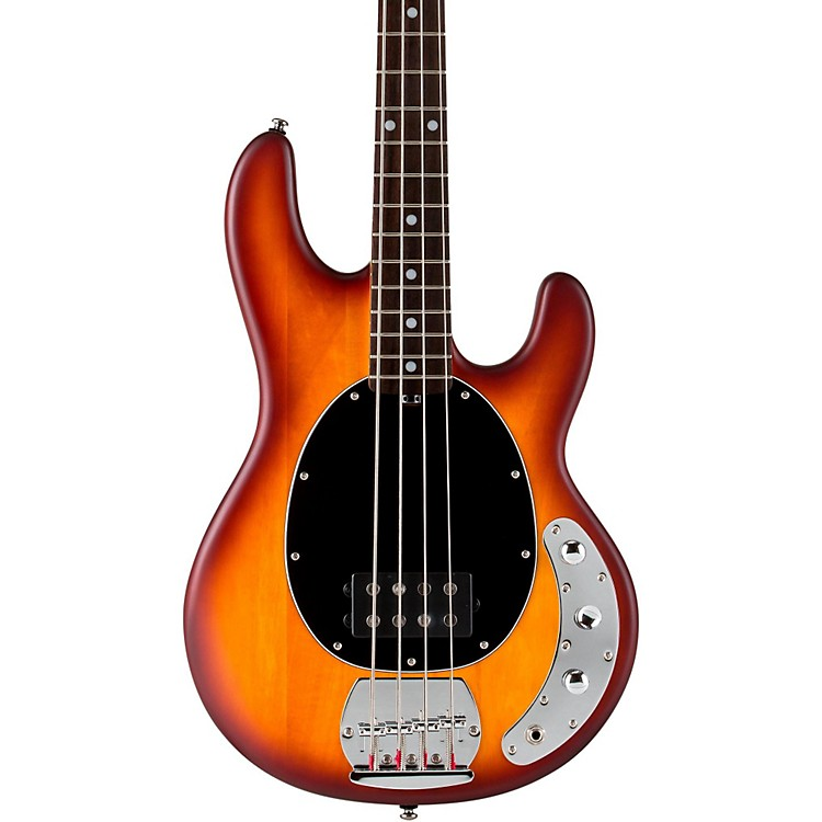 Sterling by Music Man S.U.B. Ray4  Electric Bass Honeyburst Satin