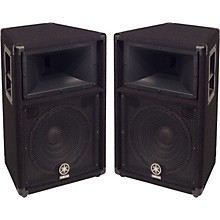 "Yamaha S112V 2-Way 12"" Club Series V Speaker Pair"