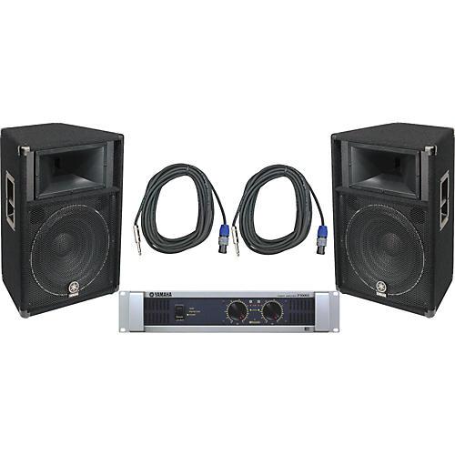 Yamaha S115V/ P5000S Speaker & Amp Package