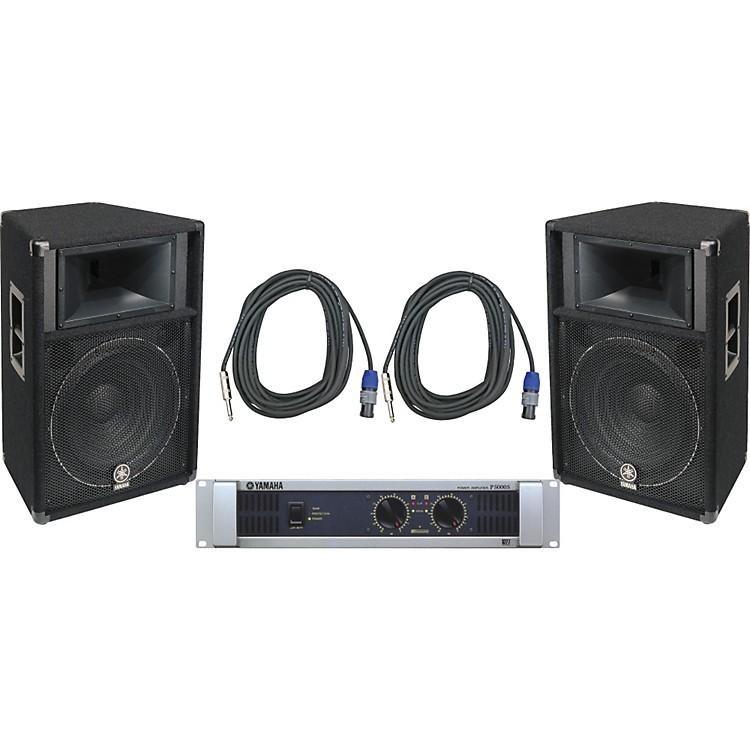 YamahaS115V/ P5000S Speaker & Amp Package