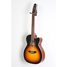 Seagull S12 Spruce Sunburst Cutaway Concert Hall QIT Acoustic-Electric Guitar Level 2 Sunburst 888366016275