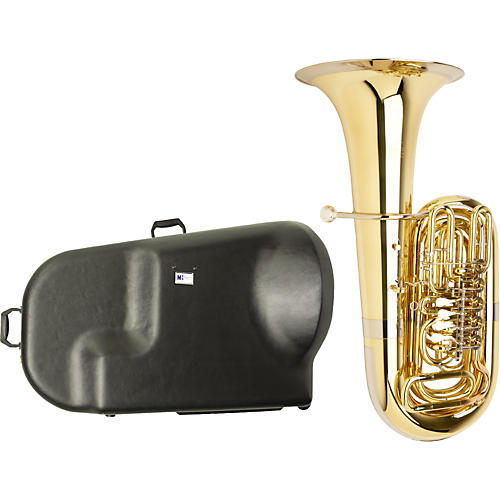 Miraphone S186 Standard Series 5-Valve BBb Tuba with Hard Case-thumbnail