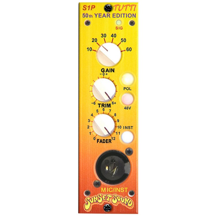 Sunset SoundS1P 500 Series Mic Pre