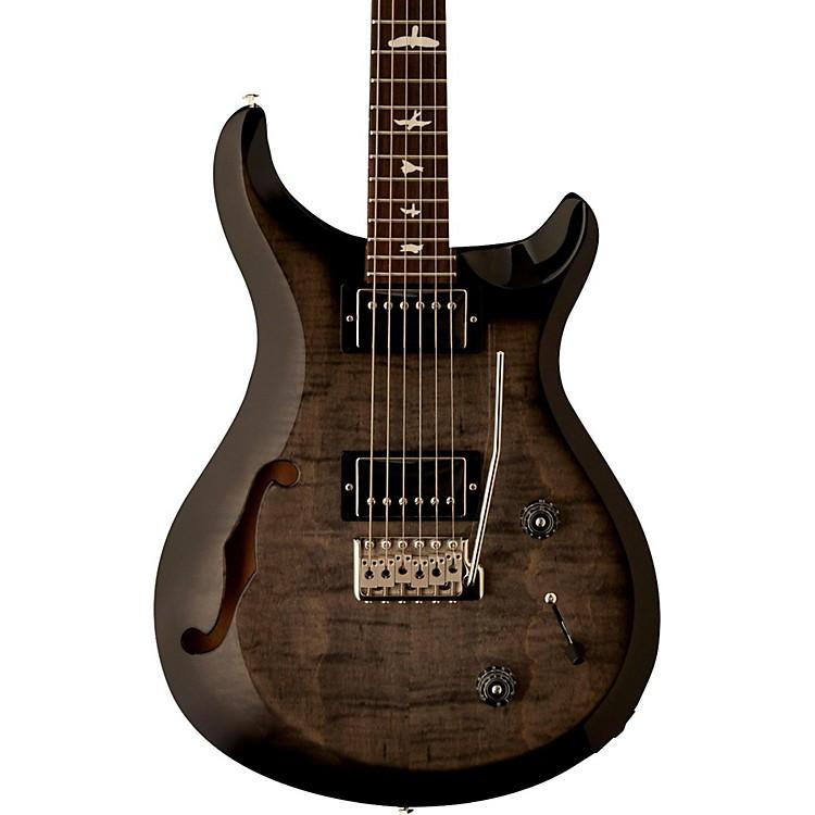 prs s2 custom 22 semi hollow electric guitar gray black musician 39 s friend. Black Bedroom Furniture Sets. Home Design Ideas