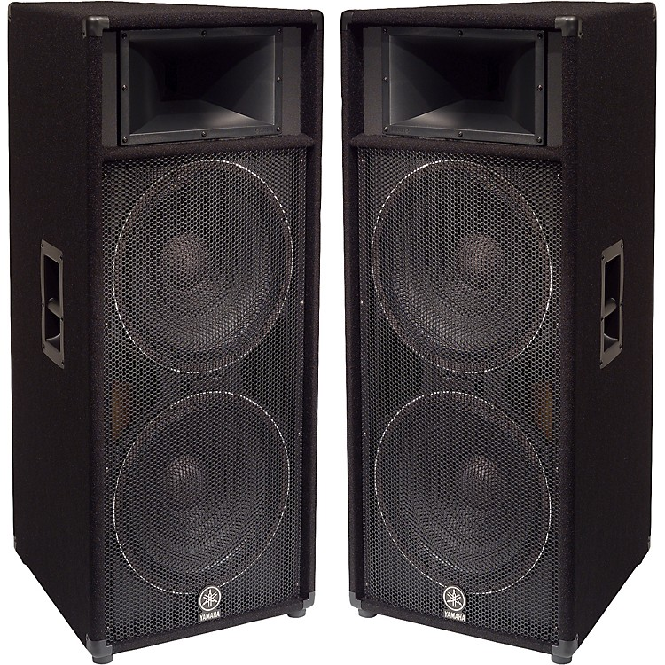 Yamaha s215v dual 15 club series v speaker pair for Yamaha 15 speakers