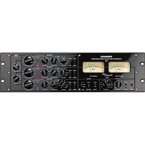 Drawmer S3 Multi-Band Stereo Tube Compressor-thumbnail