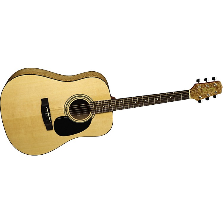 Jasmine S35Q Quilted Maple Dreadnought Acoustic Guitar