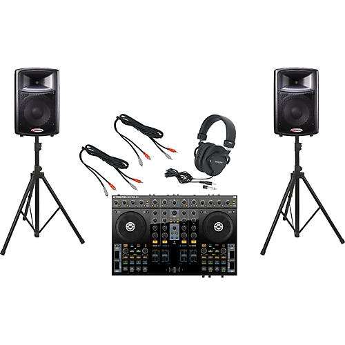 Native Instruments S4 / Harbinger APS12 DJ Package-thumbnail