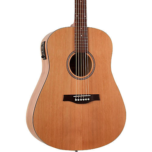 Seagull S6 Classic Dreadnought Acoustic-Electric Guitar Natural With B-Band M-450T