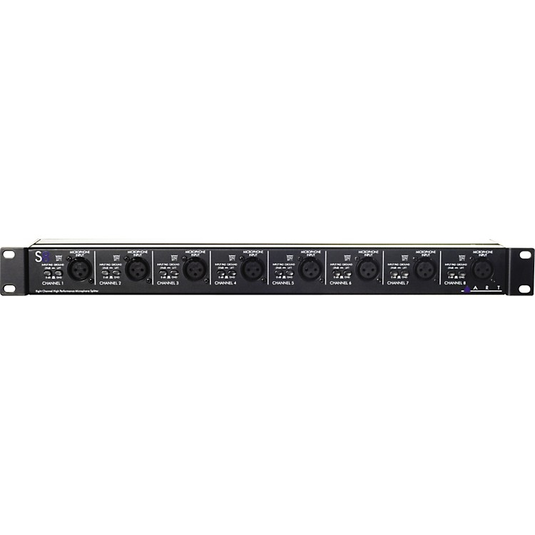 ART S8 8-Channel Balanced Mic Splitter