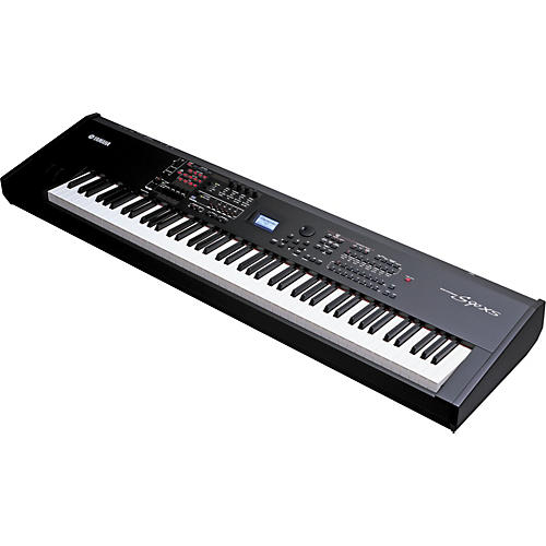 Yamaha s90xs 88 key balanced weighted hammer action synthesizer musician 39 s friend for Yamaha fully weighted keyboard