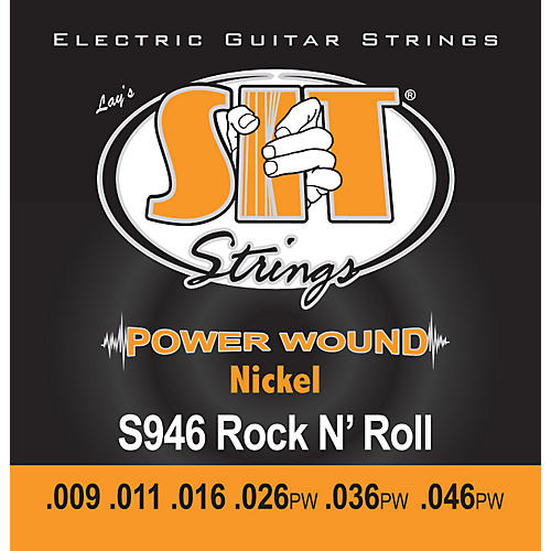 SIT Strings S946 Rock n Roll Power Wound Nickel Electric Guitar Strings-thumbnail