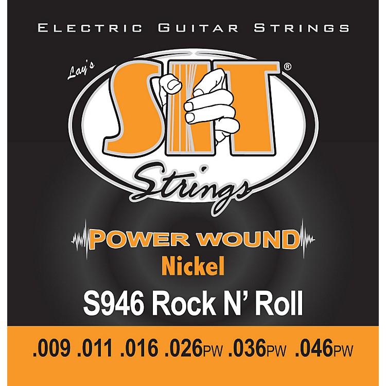 SIT StringsS946 Rock n Roll Power Wound Nickel Electric Guitar Strings