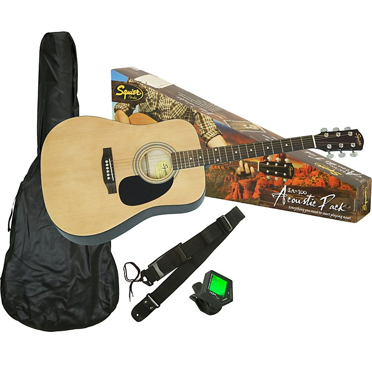 Fender SA-100 Upgrade Acoustic Guitar Pack