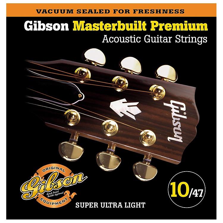 GibsonSAG-MB10 Masterbuilt Premium Phosphor Bronze Acoustic Strings