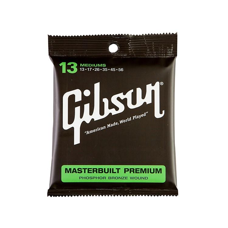 GibsonSAG-MB13 Masterbuilt Premium Phosphor Bronze Acoustic Guitar Strings