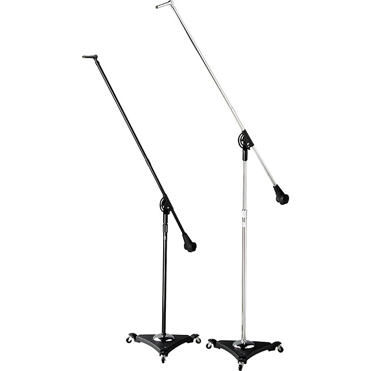 Atlas Sound SB36W Classic Studio Boom Mic Stand with Air Suspension Chrome