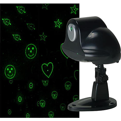 Eliminator Lighting SCATTER STAR Green LASER