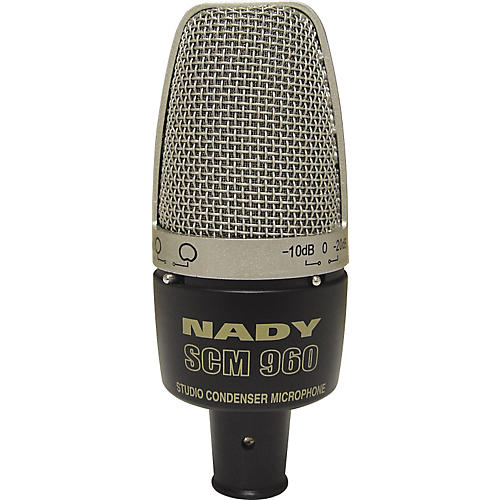 Nady SCM 960 Studio Condenser Microphone-thumbnail