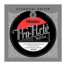D'Addario SCN-3B Pro-Arte Normal Tension Classical Guitar Strings Half Set