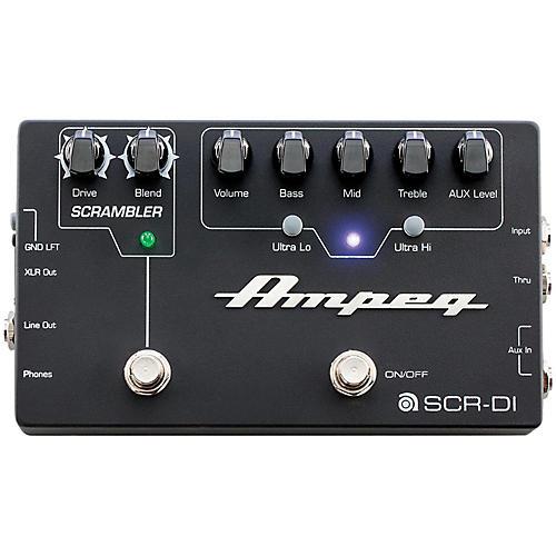 Ampeg SCR-DI Bass DI Preamp with Scrambler Overdrive-thumbnail