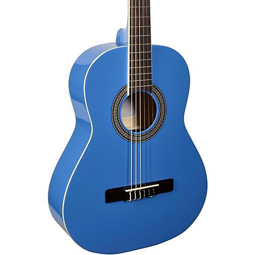 San Mateo SCS6 1/2 Size Mini Classical Acoustic Guitar Blue