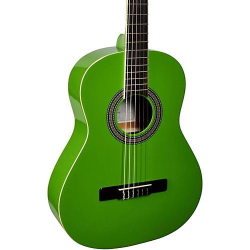 San Mateo SCS6 1/2 Size Mini Classical Acoustic Guitar Green