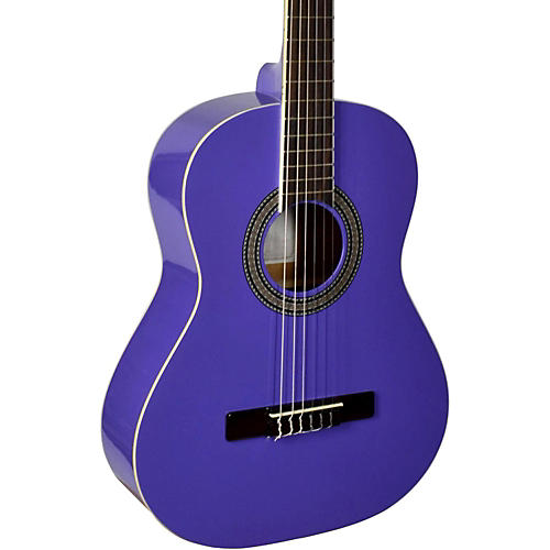 San Mateo SCS6 1/2 Size Mini Classical Acoustic Guitar Purple