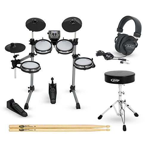 simmons sd350 complete electronic drum set with mesh pads musician 39 s friend. Black Bedroom Furniture Sets. Home Design Ideas