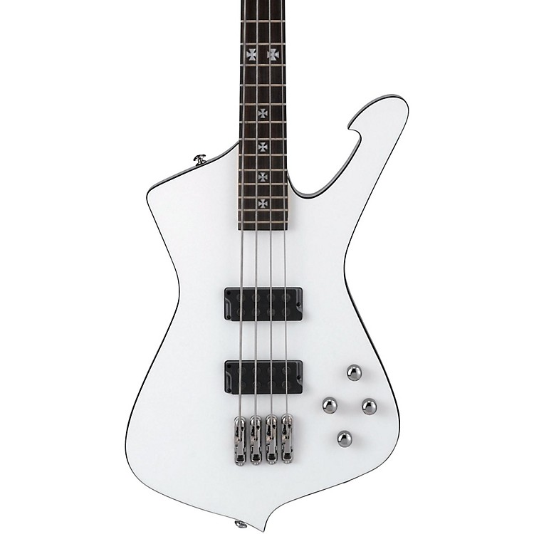 Ibanez SDB3 Sharlee D'Angelo Signature Electric Bass Guitar Pearl White