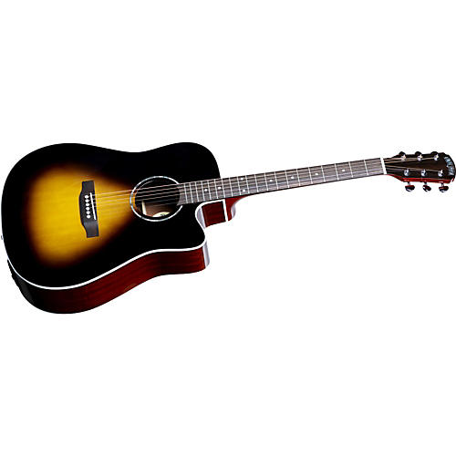 Great Divide SDCE-18 Dreadnought Solid Sitka Spruce Top Acoustic-Electric Cutaway Guitar-thumbnail