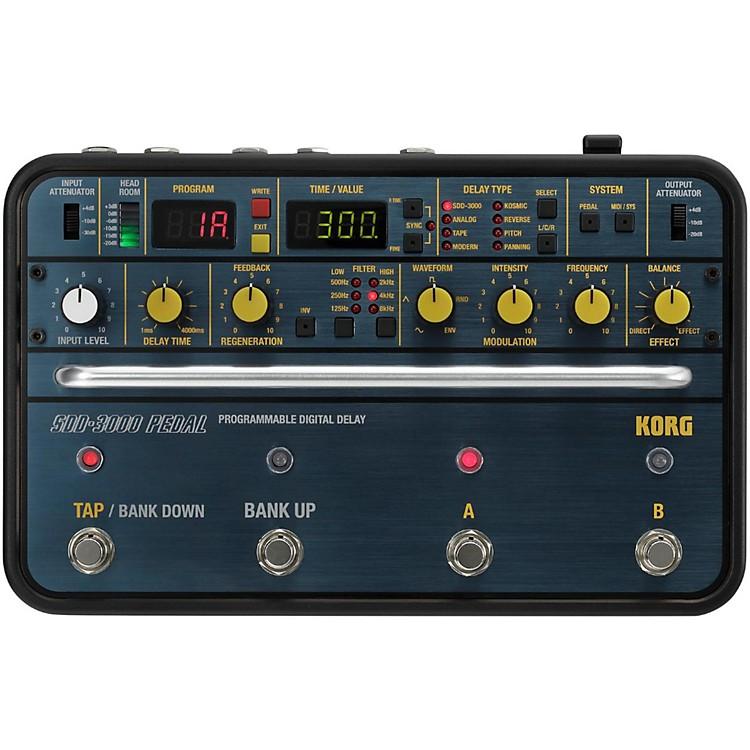 KorgSDD-3000 Delay Guitar Effects Pedal
