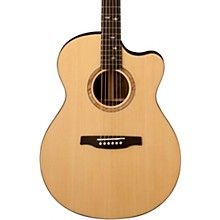 PRS SE Alex Lifeson Thinline Acoustic-Electric Guitar Natural