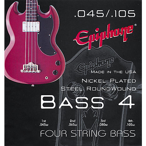 Epiphone SEBE-60 M Roundwound Bass Strings-thumbnail