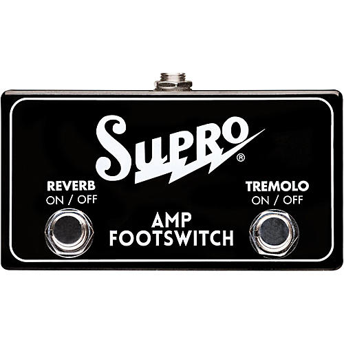 Supro SF2 Tremolo/Reverb Dual Footswitch-thumbnail
