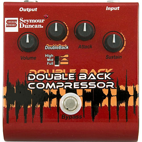 Seymour Duncan SFX-09 Double Back Compressor Guitar Effects Pedal