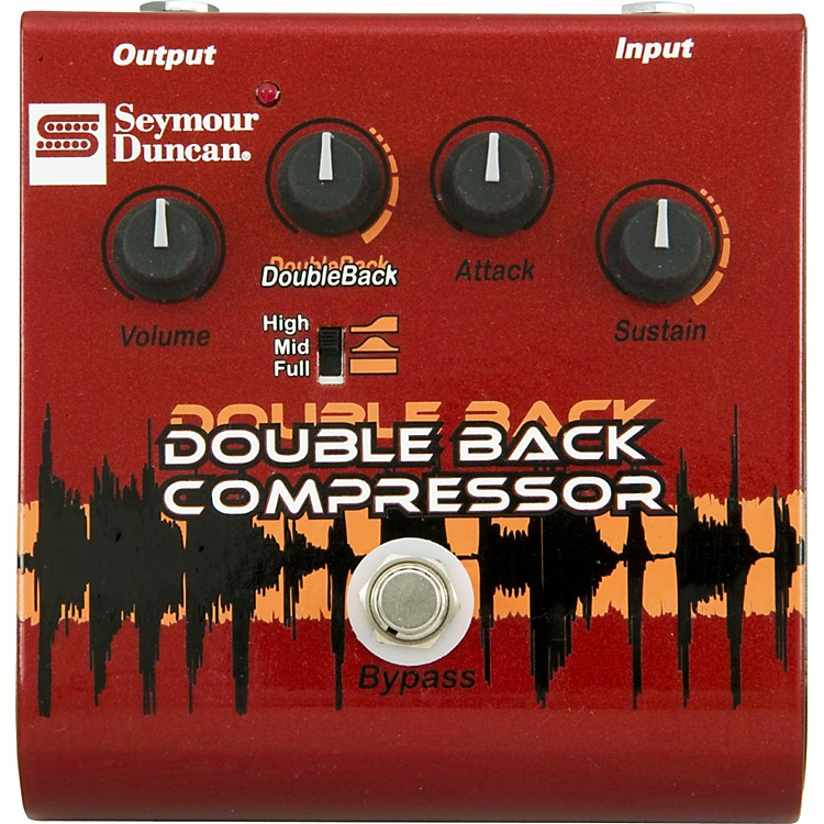 Seymour Duncan SFX-09 Double Back Compressor Guitar Effects Pedal