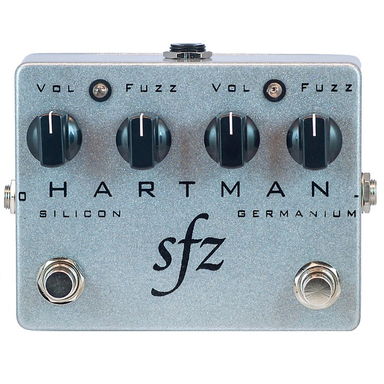 Hartman Electronics SFZ Dual Stage Fuzz Guitar Effects Pedal