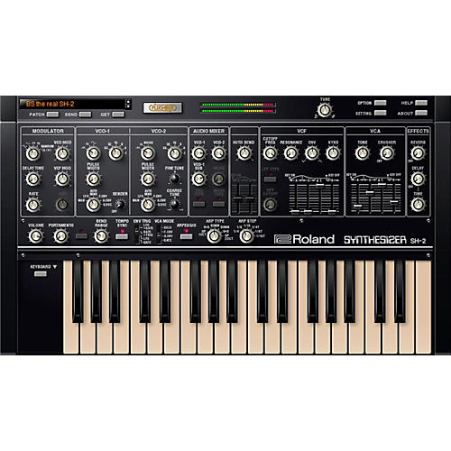 roland sh 2 virtual synthesizer software download musician 39 s friend. Black Bedroom Furniture Sets. Home Design Ideas