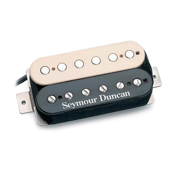 Seymour DuncanSH-4 Humbucker Reverse Guitar PickupBlack & Creme