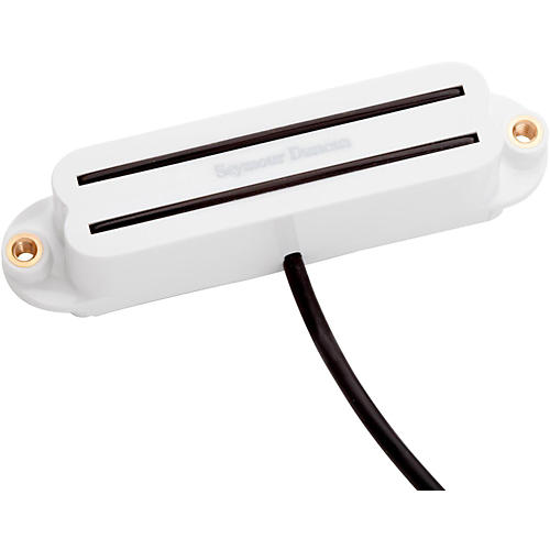 Seymour Duncan SHR-1 Hot Rails Stacked Single-Coil Pickup White Neck