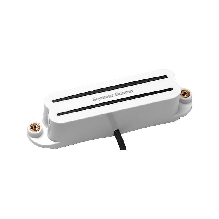 Seymour DuncanSHR-1 Hot Rail Stacked Single Coil PickupWhiteBridge